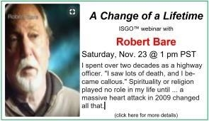 Live ISGO Event w Robert Bare Nov 23 at 1:00 pm PDT