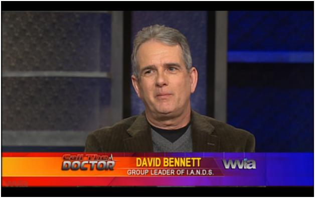 Near-death experiencer and leader of Upstate NY IANDS group, David Bennett...
