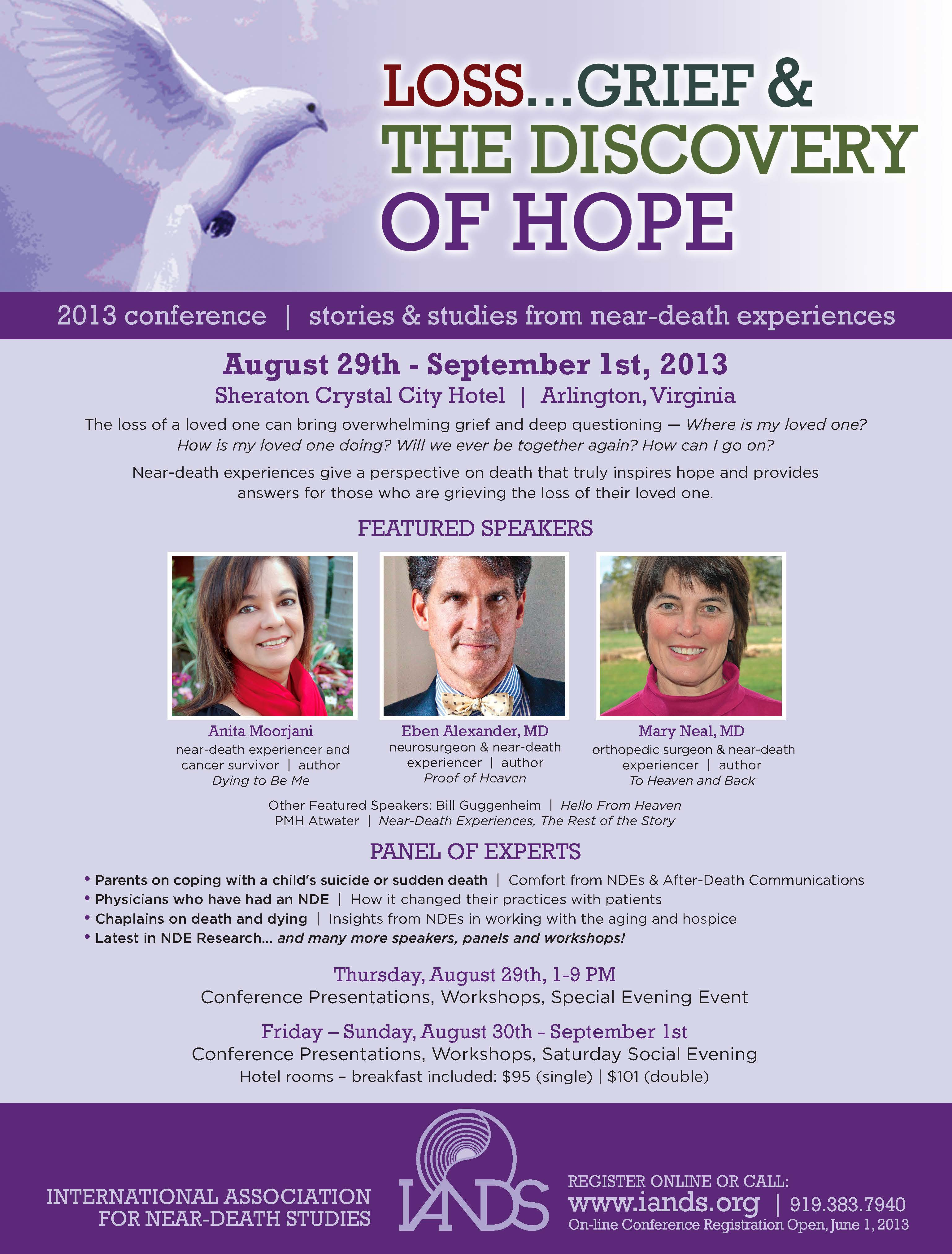 2013 Conference Featured Speakers!